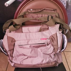 Skip Hop Diaper Bag with Thermal Bag for Sale in Los Angeles, CA