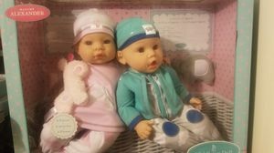 Madame Alexander twin baby dolls for Sale in Los Angeles, CA