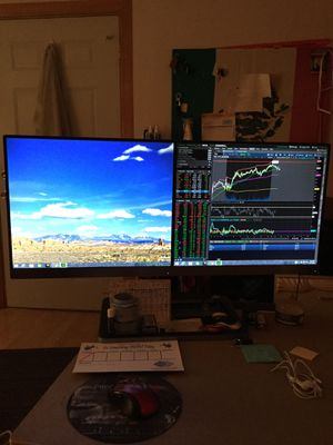 Phillips Dual Monitor for Sale in Chicago, IL