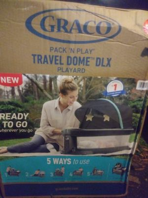 Graco pack and play Travel Dome DLX playyard for Sale in Chesapeake, VA