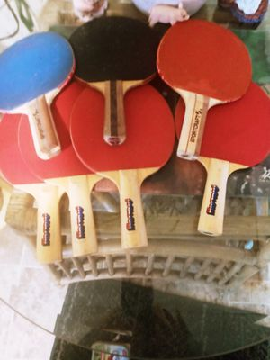 Sport craft and harvard vintage ping pong rackets and more! for Sale in Columbus, OH