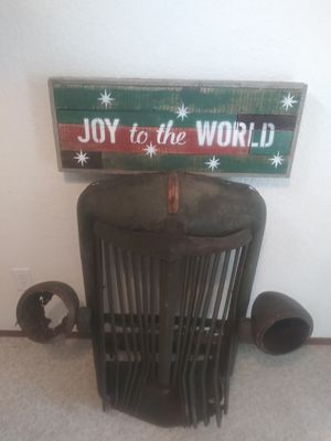 RUSTIC ANTIQUE BARN WOOD CHRISTMAS HOLIDAY SIGN for Sale in Seattle, WA