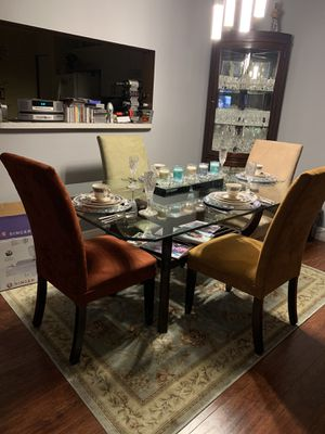 Glass Dining table for Sale in Fort Lauderdale, FL