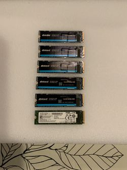 256 GB NVME PCIE SSD DRIVES (read details ) for Sale in Chicago,  IL