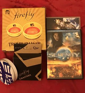 Firefly Series DVD & Serenity Movie/ Firefly Coasters& Bowls for Sale in St. Louis, MO