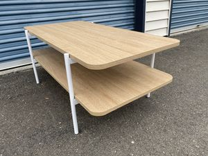 Mid Century Modern Style 2 Tier Coffee Table for Sale in Kirkland, WA