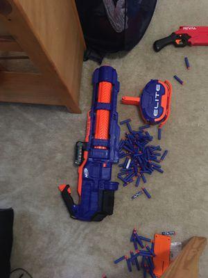 Nerf Machine gun starter pack for Sale in St. Marys, GA