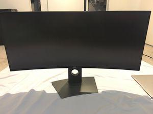 DELL Ultra Sharp Wide CURVED screen 34 inch Monitor for Sale in Arlington, VA