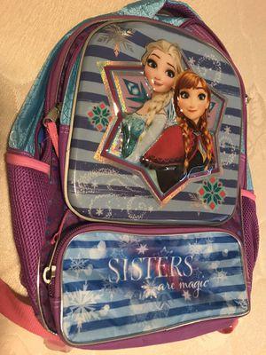 Disney's Frozen Anna & Elsa Big School Bag for Sale in Carrollton, TX