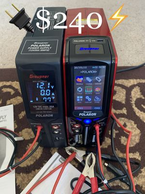 Polaron Ac/Dc Power Charger for Drone/RC for Sale in Las Vegas, NV