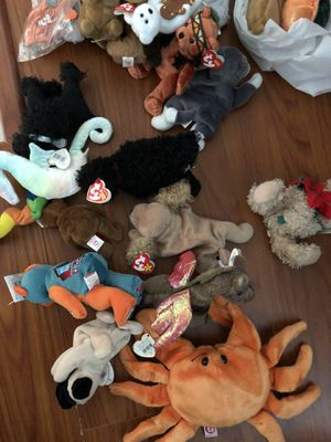 Beanie babies toys collectibles see all pictures for Sale in Sunrise, FL