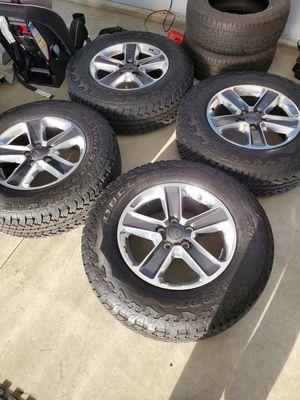 Jeep 2020 wheels wrangler for Sale in Buena Park, CA