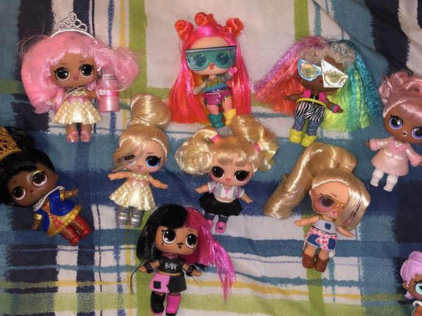 HAIRGOALS- all new , never been played with . LOL SURPRISE DOLLS ULTRA RARE