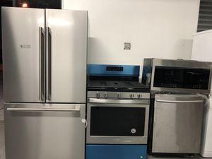 Stainless steel 4pcs kitchen set for Sale in Elizabeth, NJ