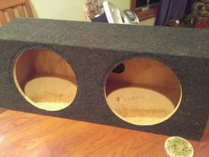 """12"""" subwoofer box for Sale in Hastings, NE"""