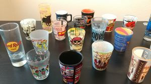 Collection of travel shot glasses for Sale in Plano, TX