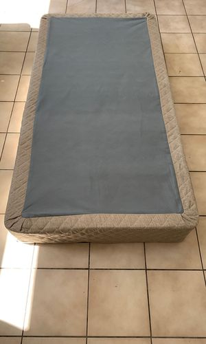 TWIN BED BOX SPRING STRONG for Sale in Santa Clara, CA