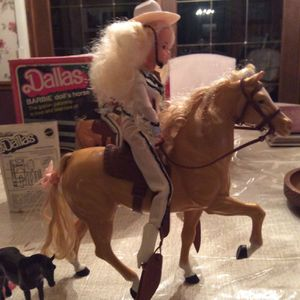 Vintage Western Barbie Doll And Dallas Horse for Sale in Waite Hill, OH