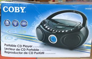 Coby portable CD 💿 player & Am/Fm radio for Sale in Ontario, CA