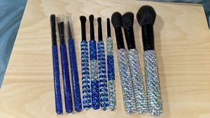 Bedazzled makeup brushes for Sale in Tacoma, WA