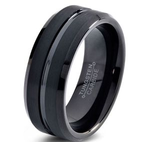 Tungsten wedding ring 8mm for men for Sale in Daly City, CA