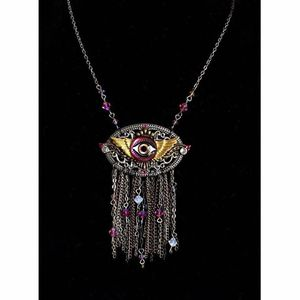 Eye Statement Necklace Handmade for Sale in Lake Oswego, OR