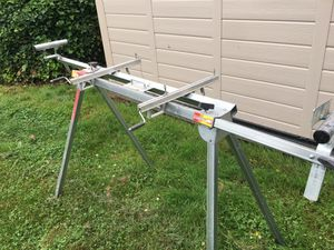 Miter saw table, folding. for Sale in Sumner, WA