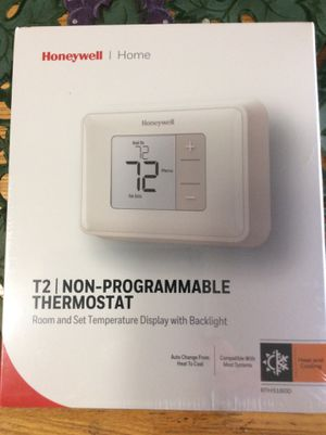 Honeywell non-programmable thermostat. New in box! for Sale in Largo, FL