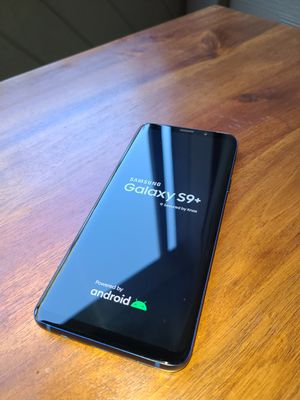 Samsung Galaxy S9+, 64GB, Coral Blue Unlocked (T-Mobile) for Sale in Foster City, CA