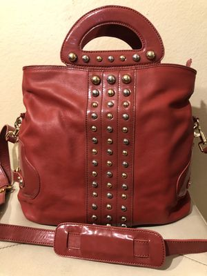 Haley Bob Studded Red Tote crossbody bag for Sale in Los Angeles, CA