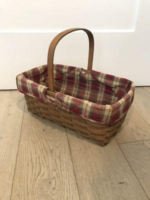 Longaberger medium size basket for Sale in Tampa, FL