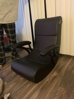 Rocking gaming chair with speakers for Sale in El Cajon, CA