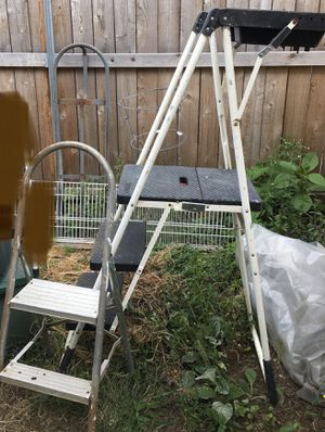 STEP LADDERS. $5 & $50. SE PORTLAND. CASH ONLY for Sale in Happy Valley, OR