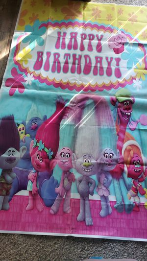 TROLLS BANNER 3ft by 5th for Sale in San Jose, CA