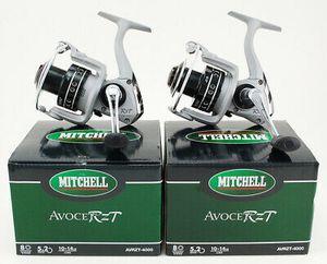 2 Mitchelle Avocet RZT AVRZT-4000 fishing reel 8 ball bearings 5.2:1 new in box fishing reel for Sale in Litchfield Park, AZ