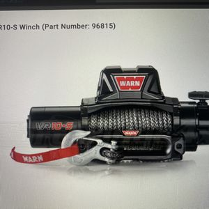 New WARN 96815 VR10-S Electric 12V Winch w/ Synthetic Rope for sale...$685.00, Still In The Box w/ receipt. for Sale in Nashville, TN
