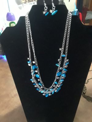 Beautiful necklace with Earrings for Sale in North Miami, FL