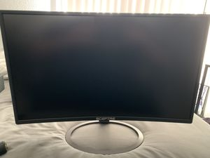 Sceptre 24 in curved monitor for Sale in Colton, CA