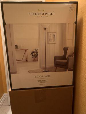 Torch Floor Lamp - Threshold for Sale in Jacksonville, FL