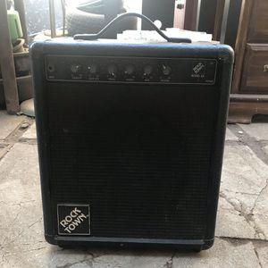 Guitar Amplifier (ROCK TOWN) for Sale in Fresno, CA