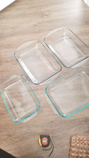 4 Pyrex Baking Dishes for Sale in Raleigh, NC