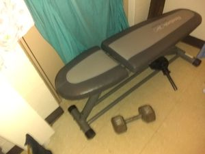 Bench and weights for Sale in Providence, RI