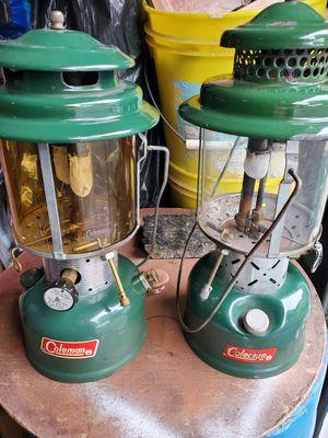 Coleman kerosene lanterns for Sale in Wolcott, CT