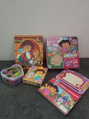 Dora Games and Puzzles for Sale in Chino, CA