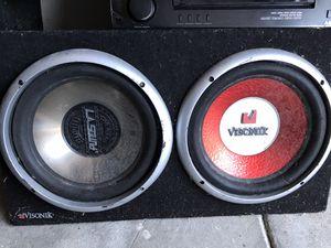 Visonik Car base and amplifier for Sale in Oceanside, CA