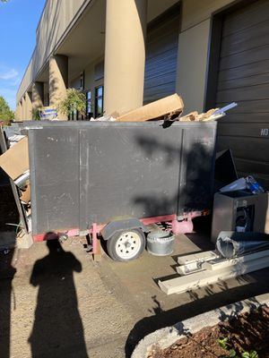 Paying to haul away$$ Free 4x10' trailer (no title) *TAKE TRASH WITH IT* I'll pay you- name your price for Sale in Lynnwood, WA