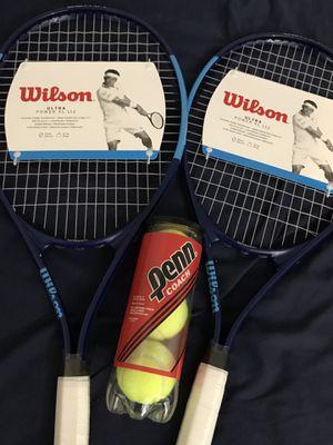 Tennis Rackets & tennis balls for Sale in Glendale, AZ