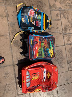 Disney Cars backpacks for Sale in South Gate, CA
