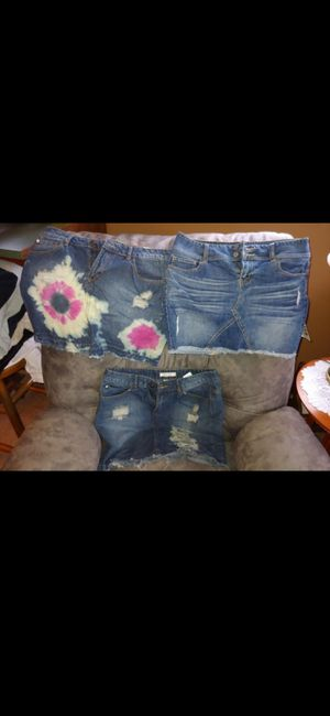 Jean skirts for Sale in Silver Spring, MD