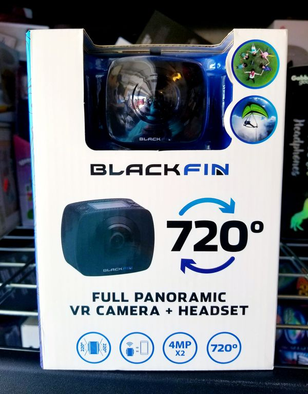 VR Action Camera and Headset